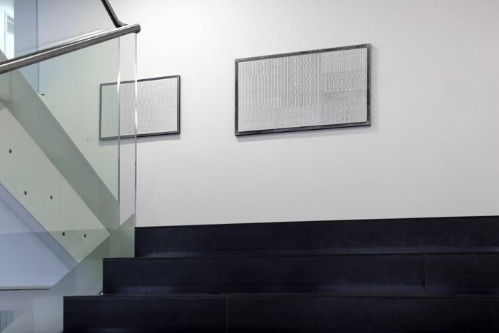 Landschaft_getippt 1 und 2 in der Vertikalen Galerie, Wien