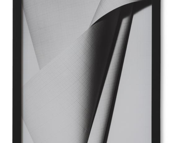 Millimeterpapierskulptur 1 (Spirale) 2017